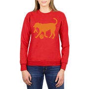 Basketball Crew Neck Sweatshirt - Baxter The Basketball Dog