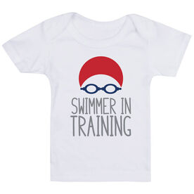Swimming Baby T-Shirt - Swimmer In Training