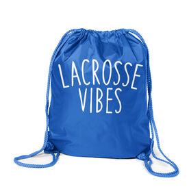 Girls Lacrosse Sport Pack Cinch Sack - Lacrosse Vibes