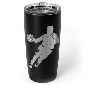 Basketball 20 oz. Double Insulated Tumbler - Guy Player
