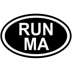 Vinyl Decal Run Massachusetts