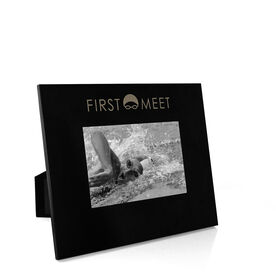 Swimming Engraved Picture Frame - First Meet