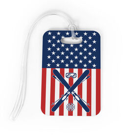 Skiing Bag/Luggage Tag - USA Ski