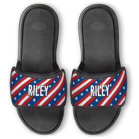 Personalized For You Repwell™ Slide Sandals - Patriotic