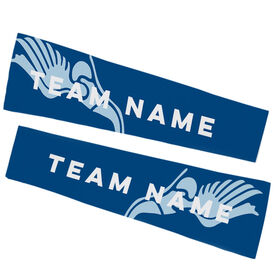 Track & Field Printed Arm Sleeves - Track Team Name