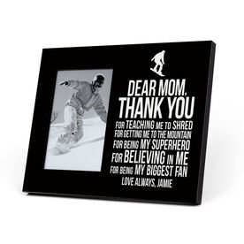 Snowboarding Photo Frame - Dear Mom