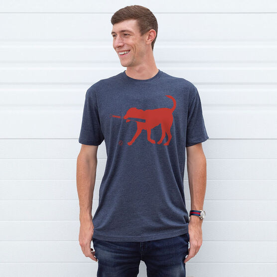 Baseball Tshirt Short Sleeve Buddy The Baseball Dog