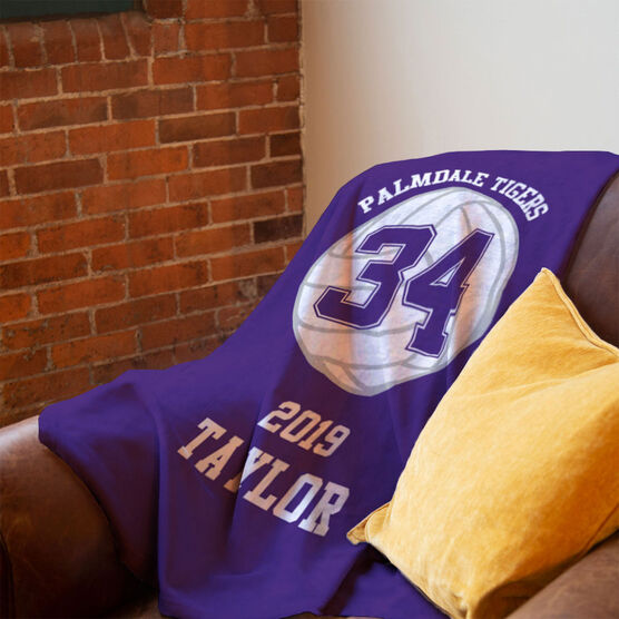 Volleyball Premium Blanket - Personalized Team