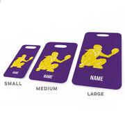 Softball Bag/Luggage Tag - Personalized Softball Catcher