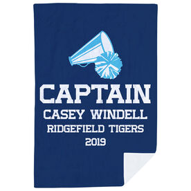 Cheerleading Premium Blanket - Personalized Captain