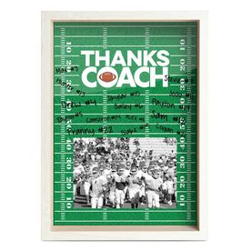 Football Premier Frame - Thanks Coach