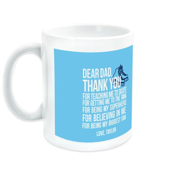 Figure Skating Coffee Mug Dear Dad