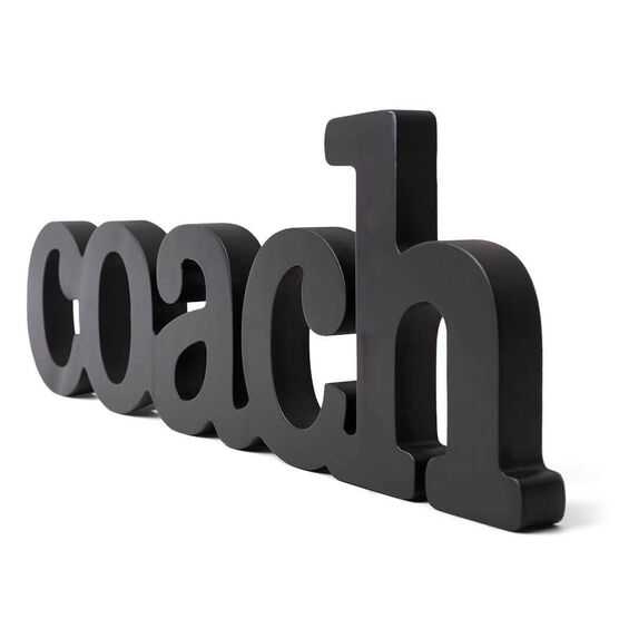 Large Coach Wood Words