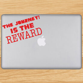 The Journey Is The Reward Removable GoneForaRunGraphix Laptop Decal