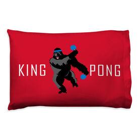 Ping Pong Pillowcase - King Pong