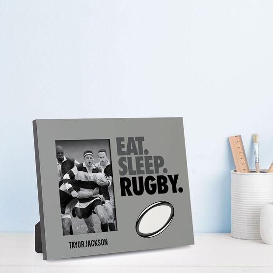 Rugby Photo Frame - Eat Sleep Rugby