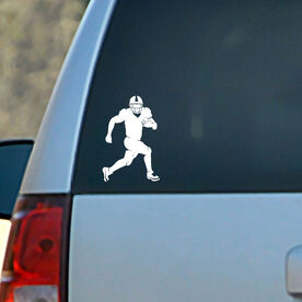 Vinyl Car Decal Football Running Back Silhouette