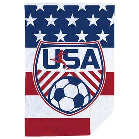 Soccer Premium Blanket - USA Soccer