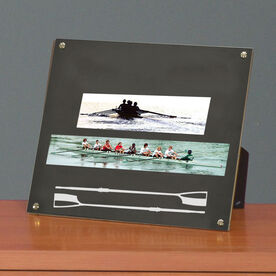 Crew Photo Display Frame Crew Oars