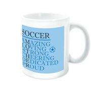 Soccer Coffee Mug - Mother Words