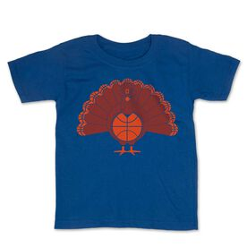 Basketball Toddler Short Sleeve Tee - Turkey Player
