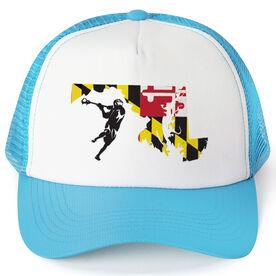 Guys Lacrosse Trucker Hat MD Lax Guys