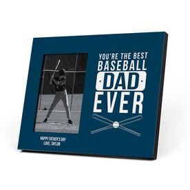 Baseball Photo Frame - Best Baseball Dad Ever