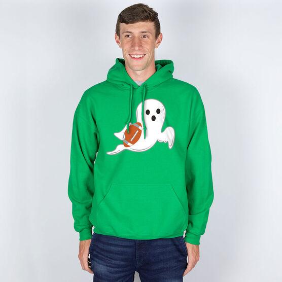 Football Hooded Sweatshirt - Football Ghost