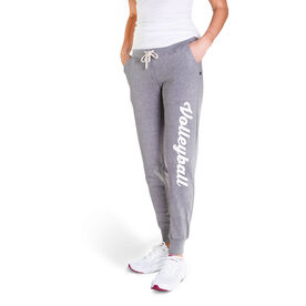 Volleyball Women's Joggers - Volleyball Script (Small)