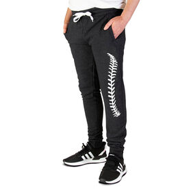 Baseball Men's Joggers - Baseball Stitches