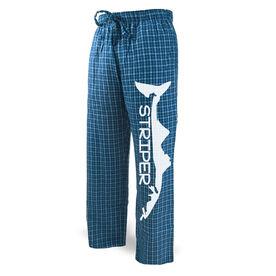 Fly Fishing Lounge Pants Striper Silhouette