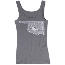 Women's Athletic Tank Top Oklahoma State Runner