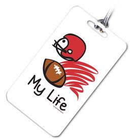 Football Bag/Luggage Tag My Life© Football