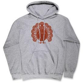 Guys Lacrosse Hooded Sweatshirt - Turkey Player