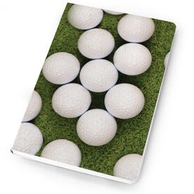 Golf Notebook Golf Balls