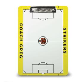 ChalkTalk Soccer Custom Coaches Dry Erase Clipboard