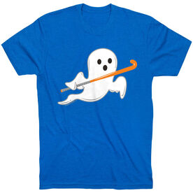 Field Hockey Tshirt Short Sleeve Field Hockey Ghost