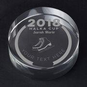 Figure Skating Personalized Engraved Crystal Gift - Custom Team Award