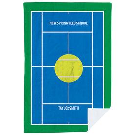 Tennis Premium Blanket - Court