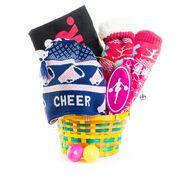 Eat Sleep Cheer Easter Basket