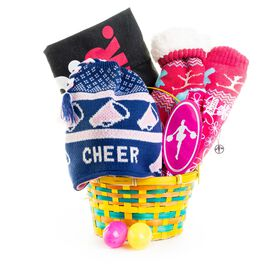 Eat Sleep Cheer Easter Basket