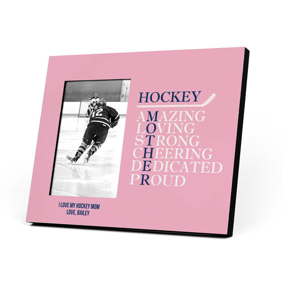 Hockey Photo Frame - Mother Words