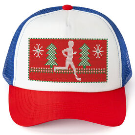 Running Trucker Hat - Ugly Sweater Male