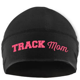Run Technology Beanie Performance Hat - Track Mom