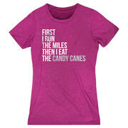 Women's Everyday Runners Tee - Then I Eat The Candy Canes