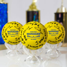 Girls Lacrosse Ball - Manager Autograph