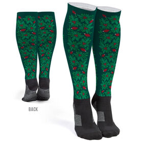 Printed Knee-High Socks - Holly