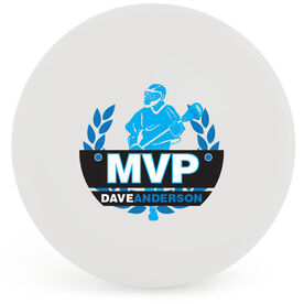 Personalized MVP Lacrosse Ball (White Ball)