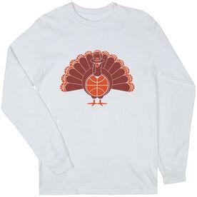 Basketball Long Sleeve T-Shirt - Turkey Player