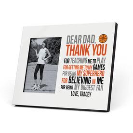 Basketball Photo Frame - Dear Dad